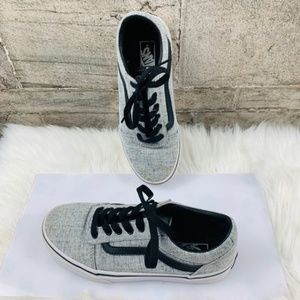 Kids Vans Gray and Black size Y 3
